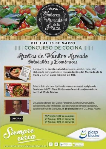 Concurso de cocina y showcooking en c c plaza de aluche - Concurso de cocina ...
