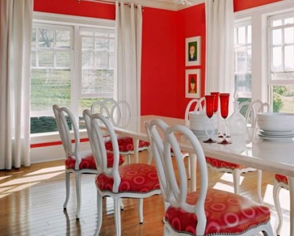 Colores ideales para pintar el comedor - Colores para comedores ...