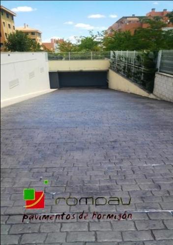 Pavimentos de hormigon impreso para rampas de garaje - Suelo para garaje ...